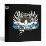 Anderson Just Swim 3 Ring Binders