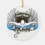 Anderson Just Swim Christmas Ornaments
