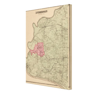 Anderson, Ohio Impresión En Lienzo