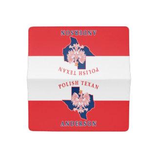 Anderson Polish Texan Checkbook Cover