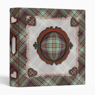 Anderson Scottish clan tartan 3 Ring Binder