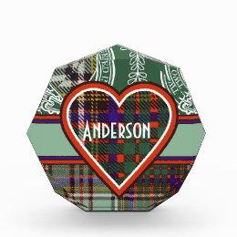 Anderson Scottish Tartan Award