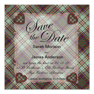 Anderson Scottish Tartan - Plaid Card