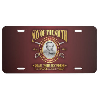 Anderson (SOTS2) License Plate