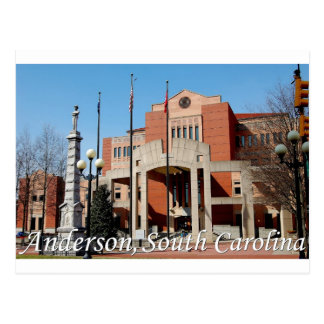 Anderson, South Carolina Post Card