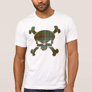 Anderson Tartan Skull No Banner T-Shirt