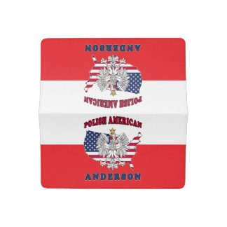 Anderson Texas Polish American Checkbook Cover