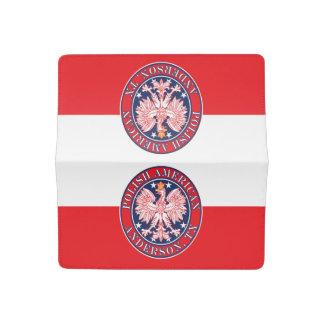Anderson Texas Polish American Eagle Checkbook Cover