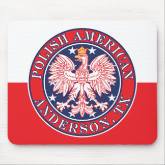 Anderson Texas Polish American Eagle Mouse Pad