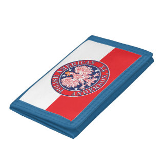Anderson Texas Polish American Eagle Trifold Wallet