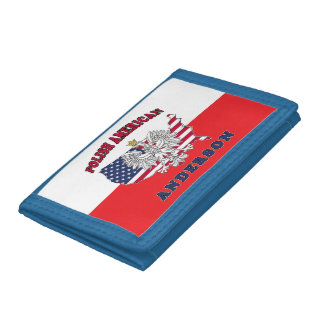 Anderson Texas Polish American Trifold Wallet