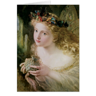 Anderson's Beautiful Fairy Christmas Card