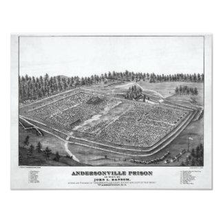 Andersonville Prison by John L Ransom Card