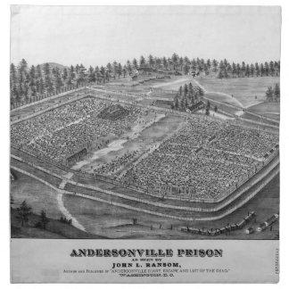 Andersonville Prison by John L Ransom Napkin