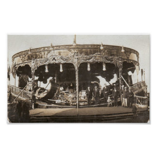 Anderton and Rowlands Fair BW Poster