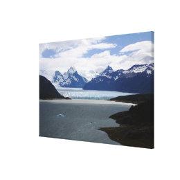 Andes Mountain Range Canvas Print