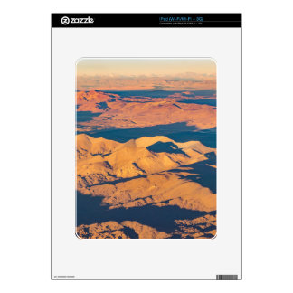 Andes Mountains Aerial Landscape Scene Decal For iPad