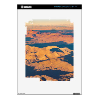 Andes Mountains Aerial Landscape Scene iPad 3 Skin