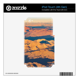 Andes Mountains Aerial Landscape Scene iPod Touch 4G Skin