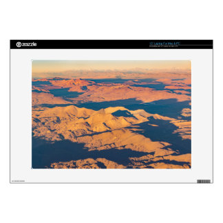 Andes Mountains Aerial Landscape Scene Laptop Decals