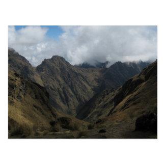 Andes Postcard