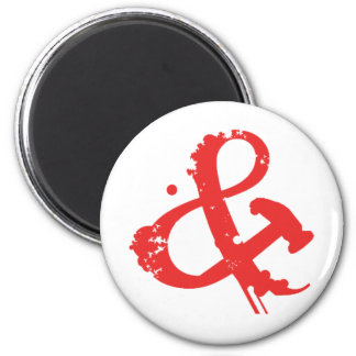 ANDHAMMER ARMY 2 INCH ROUND MAGNET