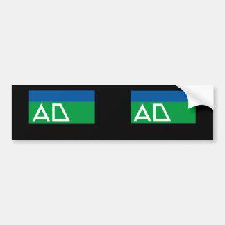 Andijk, Netherlands Car Bumper Sticker