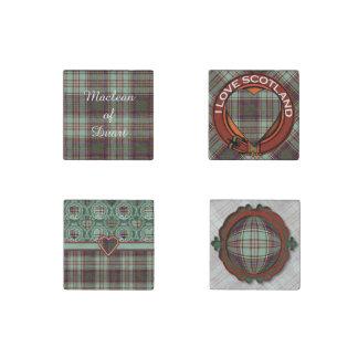 Andison clan Plaid Scottish kilt tartan Stone Magnet