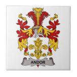 Andor Family Crest Ceramic Tile