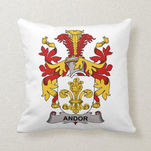 Andor Family Crest Pillows