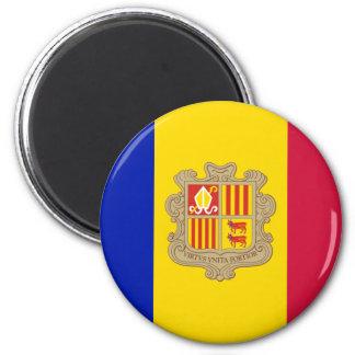 Andorra AD 2 Inch Round Magnet