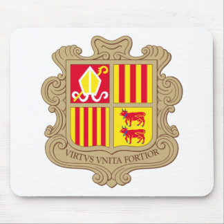 Andorra Coat of arm AD Mouse Pad