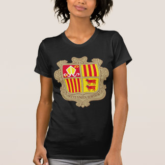 Andorra Coat of arm AD T Shirt