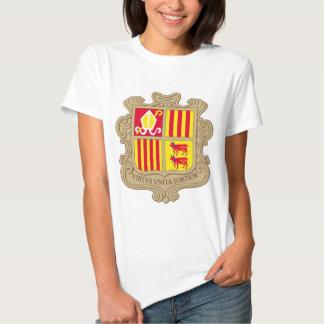 Andorra Coat of arm AD T-shirt