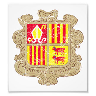 Andorra Coat Of Arms Photo