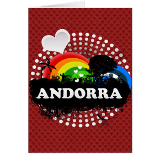 Andorra con sabor a fruta linda felicitacion