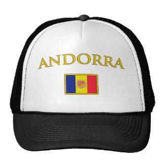 Andorra de oro gorras