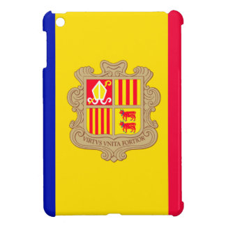 Andorra Flag Cover For The iPad Mini