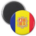 Andorra Flag Fridge Magnet