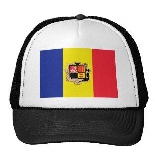 Andorra Flag Hat