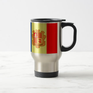 Andorra Flag Coffee Mugs