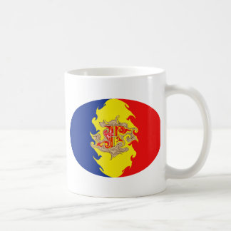 Andorra Gnarly Flag Mug