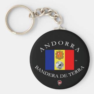 ANDORRA LLAVERO REDONDO TIPO PIN