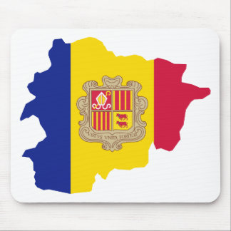 Andorra map AD Mouse Pad