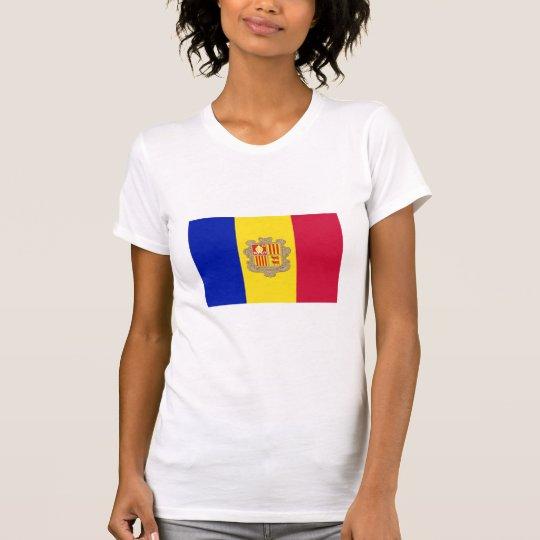 Andorra National Flag T-Shirt