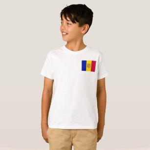 Andorra National World Flag T-Shirt