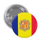 Andorra Pin Redondo 2,5 Cm