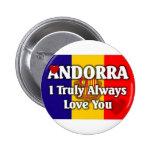 Andorra Pin Redondo 5 Cm