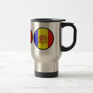 Andorra quality Flag Circle Coffee Mugs