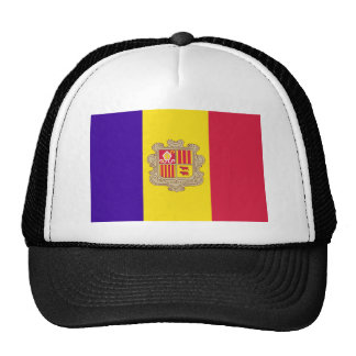 Andorran Flag Trucker Hat